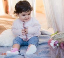 ανατομικά παπούτσια για βρέφη και παιδιά Atiipas Sneaker Pink